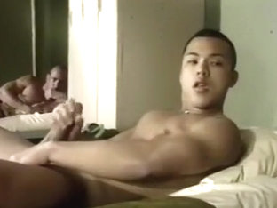 Army guys wake and fuck