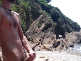 handjob on beach