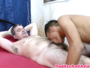 Daddy bear assfucking oriental bottom