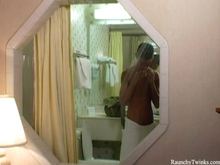 RaunchyTwinks Video: Brandon Banks relaxes alone