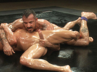 Tyler Saint vs Alessio Romero  The Oil Match