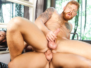 Bennett Anthony & Luke Adams in Happy Chance Part 3 - DrillMyHole