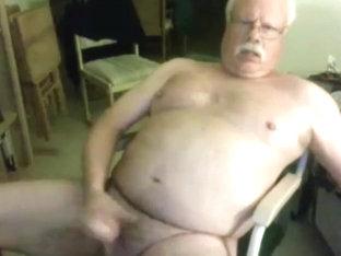 Grandpa stroke on cam 13