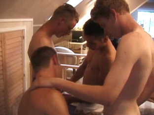 Young Foursome Nipple Biting Sex Orgy - DefiantBoyz