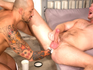 Brian Bonds & Jordano Santoro in Long Arm Of The Law Part 1, Scene #02
