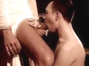 Young french slut sucking huge arab cocks