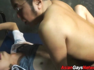 Gay asian bondage fucked