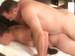 Chubby Gay Dude Gets Naughty With A Sweet Muscled Gay Hunk