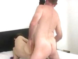 Hunks in the gay bareback porn are having anal sex