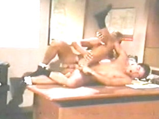 HOMOSEXUAL Vintage 1988 two Boyfrends BB in an office