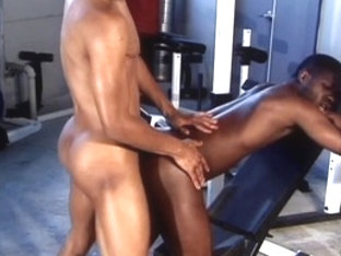 Hottest male pornstars Ricky Parker and Kobe Bird in amazing sports, black gay xxx video