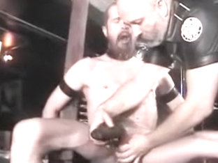 Fabulous amateur gay clip with Latex, BDSM scenes