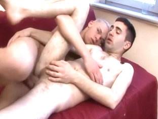 Sasa Takes a Messy Creampie in His Ass