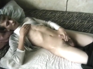 Crazy male in amazing solo male gay sex clip