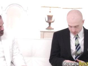 Jizzy mormon fuck raw