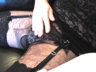 Horny Crossdresser Spunks