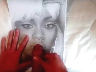 Rihanna (2 ultimate cum tribute)