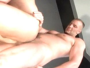 Horny homemade gay scene with Doggystyle, Threesomes scenes
