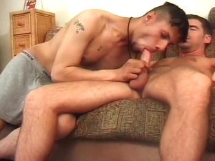 Big Latin Cock Barely Fits In White Anus