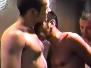 Four Guys In Some Hot And Horny Man On Man Action