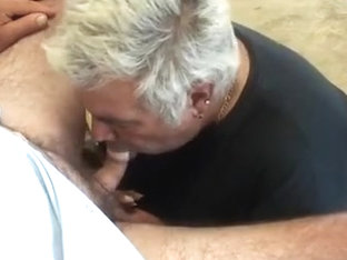 SUcking Big Mike with his Piss till he Cum's and Then he Fi