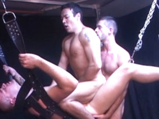 Amazing male pornstar in incredible blowjob, rimming gay adult scene
