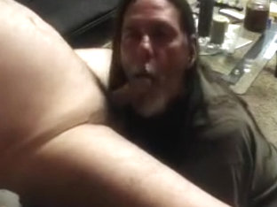 Horny mandy gets his dick sucked