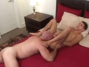 Old and young boy. daddy fuck boy