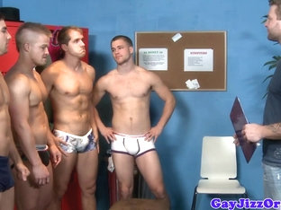 Assfucking muscle hunks in groupsex fun