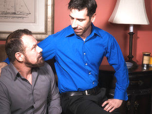 Tony Salerno & Max Sargent in Hot Daddies, Scene 04 - IconMale