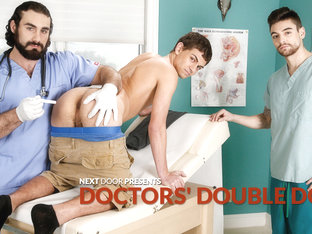Johnny Torque & Kevin Summers & Jaxton Wheeler in Doctors' Double Dose XXX Video
