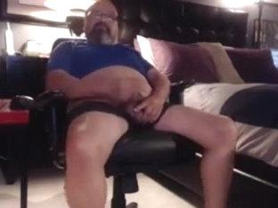 Grandpa stroke on cam 1