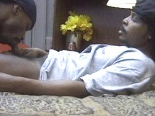 Fabulous male pornstar in crazy blowjob, black gay porn clip