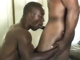 Black Muscle Ass Fucked