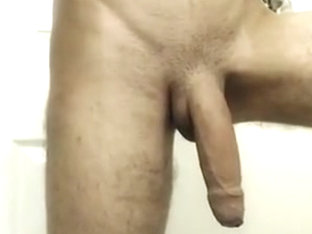 Massive long thick uncut cock hanging