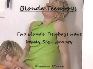 Blonde Teenboys