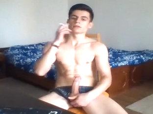 Horny romanian guy on webcam - more @ Gayboy.ca