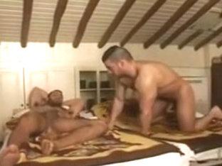 Jack and Jeanfranco Homo Attic Fuck