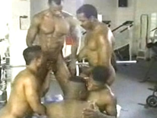 Homosexual Darksome Gym