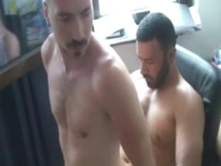 Sex in the gym with gay Turkish trainer
