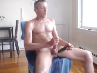 exhibitionist dad jerking off 2