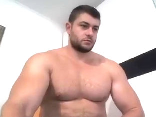 Massive bodybuilder