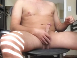 Jackoff with a gazoo plug and GIANT cum discharged #2