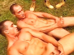 foursome in the forest