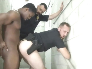 fun gay porn gallery first time Fucking the white police with some