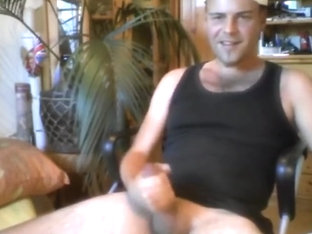 Poppers, Smoking, Huge Hard Cock Stroking, Skype Fun. Patrick Hoffmann