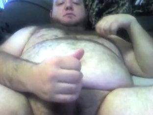 Bear Cub jacking off...CUM!!!