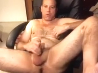 Enchanting fagot is jerking off in the guest room and memorializing himself on web camera