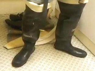 nlboots - waders undressed feet jeans (itk)
