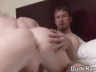 Fingered stud rides raw